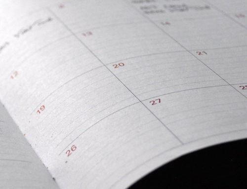 Übungsplan Januar bis Mai 2020